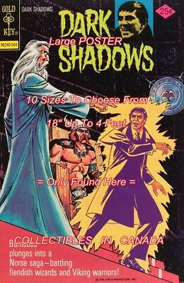 """DARK SHADOWS 1975 #31 Barnabas WIZARD = POSTER 10 SIZES Not Comic Book 18""""-4 FT"""
