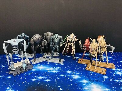 Star Wars Action Figures  -  Battle Droids ,Super Battle ,  Joblot /Bundle
