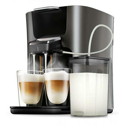Philips HD6574/50 Senseo Latte Duo Kaffeepadmaschine titanium