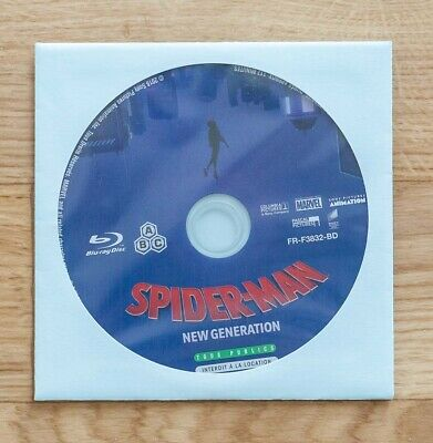 Blu ray SPIDER-MAN NEW GENERATION comme neuf