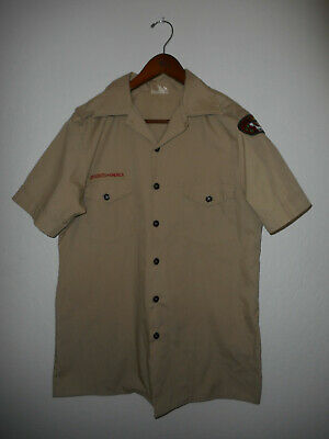 BOY SCOUTS Of America UNIFORM Shirt BSA Scout USA Adult Mens : MEDIUM Md