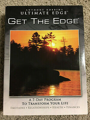 CD Anthony Robbins: Ultimate Edge Get The Edge 7 Day Program Transform Life