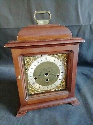 Vintage Mantle Clock Case And Dial