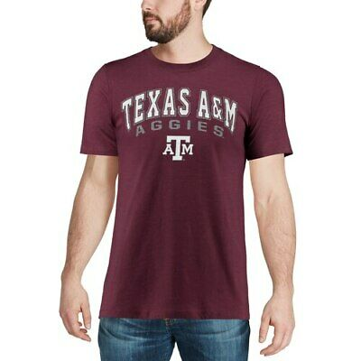 Size Medium Grey COLOSSEUM Youth Texas A/&M Aggies Bunker SS T-Shirt