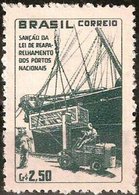 BRAZIL - 1959 - National Ports Law - MNH Stamp - Scott #892