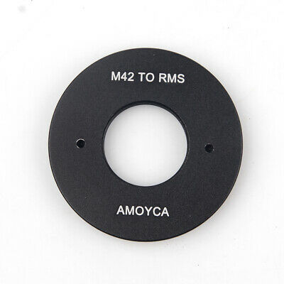 20mm RMS Royal Microscopy Society Lens to M42 Camera Mount Adapter Ring