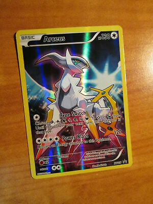 Arceus Full Art Promo XY116 Black Star Promo