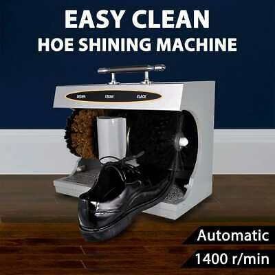 vidaXL Shoe Shine Machine Fully Automatic Electric Polishing Machine Polisher
