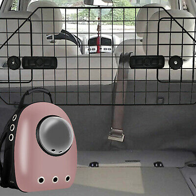 Astronaut Pet Cat Dog Puppy Carrier Travel Bag + Dog Barrier For Suv Car Safty