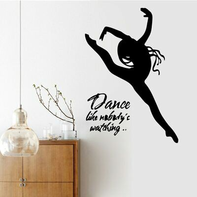 Sexy Woman Dance Wall Sticker for Man Home Decor Living Room Bedroom Bathroom