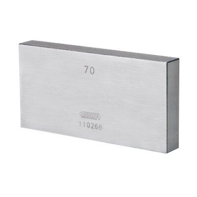 INSIZE 4101-A131D4 Individual Steel Gage Block, Grade 0 With Inspection Certific
