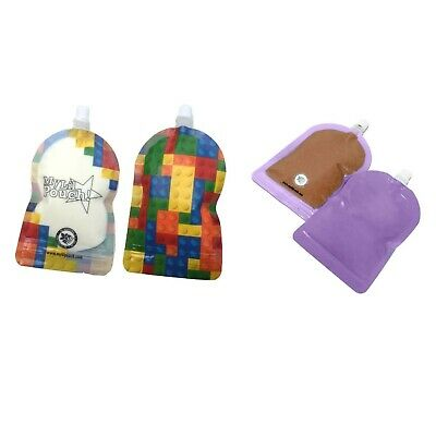 My Lil Pouch 140ml Top Spout Reusable Food Pouch 5pcs Free Postage