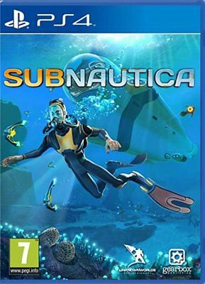 Subnautica (PS4) BRAND NEW AND SEALED - IN STOCK - QUICK DISPATCH - FREE UK POST
