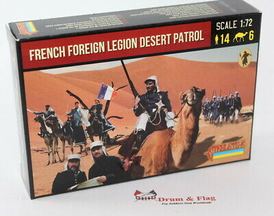 Strelets 192 - French Foreign Legion Desert Patrol - 1/72 Scale