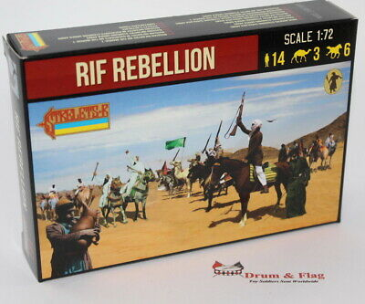 Strelets Set #191 - Rif Rebellion - 1/72 Scale