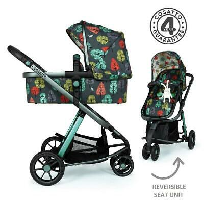 Cosatto Giggle 3 Pram & Pushchair (Hare Wood) - Suitable From Birth