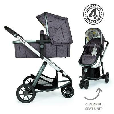 Cosatto Giggle 3 Pram & Pushchair (Fika Forest) - Suitable From Birth