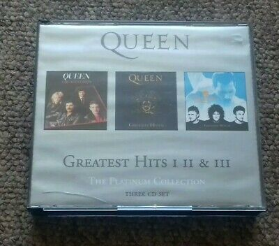 Queen The Platinum Collection 3CD Set