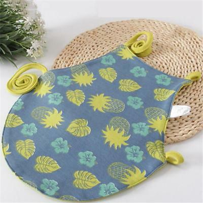 New Baby Unisex Cute Towel Saliva Waterproof Kids Cartoon Toddler Infant Bibs LA