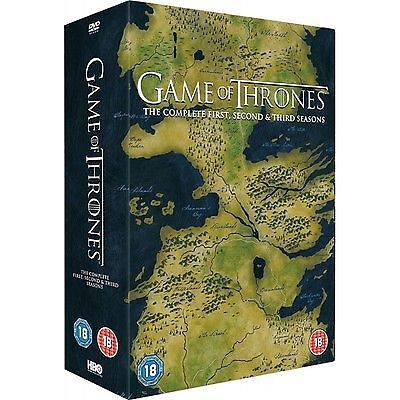 Game Of Thrones - Series 1-3 - Complete (DVD, 2014, 15-Disc Set, Box Set)