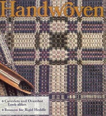 Handwoven magazine jan/feb 1994: overshot, bronson, towels, coverlets, sweaters