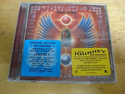 Journey - Greatest Hits CD Columbia legacy new sealed 2006 free ship