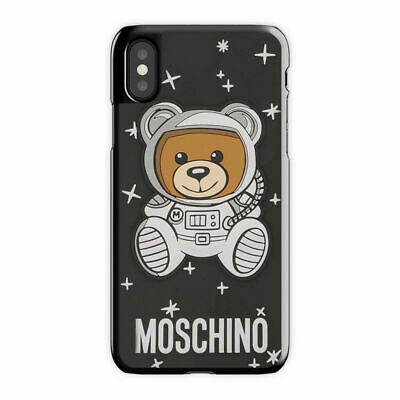 premium selection e6157 4117c SPACE MOSCHINO IPHONE 5 6s Plus 7 8 Plus X/XS XR, Moschino iPhone Case/Cover