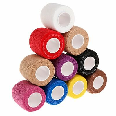 10pc 5cm Disposable Tattoo Self-adhesive Elastic Grip Bandage Wrap Sport Tape