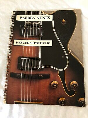 Rare Jazz Guitar Book Warren Nunes Jazz Guitar Portfolio