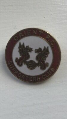 Leyton Orient Football Supporters Club Enamel Badge (1)