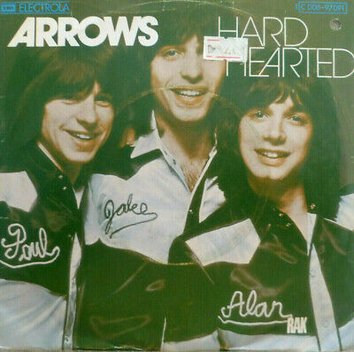 """7"""" 1975 GLAM RARE IN MINT- ! ARROWS : Hard Hearted"""