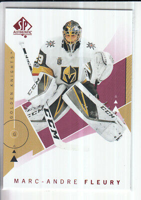 18/19 Ud Sp Authentic Marc-Andre Fleury Red Base Parallel #90