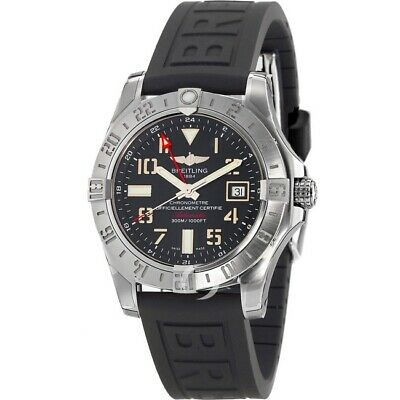 New Breitling Avenger Avenger II GMT Black Men's Watch A3239011/BC34-152S