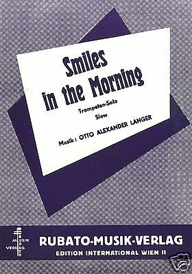 Otto Alexander Langer - Smiles In The Morning - Trompeten-Solo Mit Klavier Note