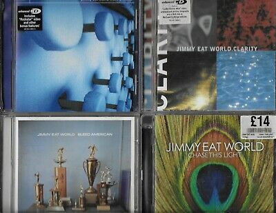 Jimmy Eat World 5 Cds Static Prevails Clarity Bleed American Chase This Futures