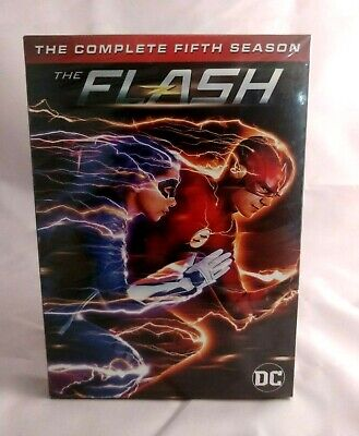 The Flash - Season 5 Complete DVD Box Set New & Sealed UK Compatible