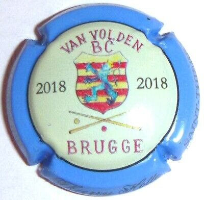Capsule de Champagne : New !!! HOTTE Thierry, BRUGGE 2018 ! n°28i