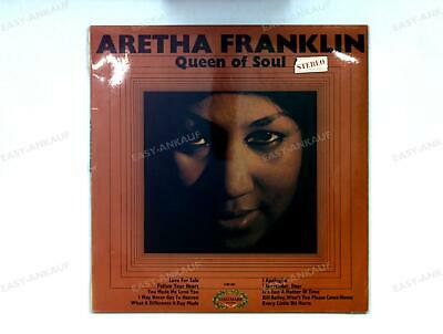 Aretha Franklin - Queen Of Soul UK LP 1968 .