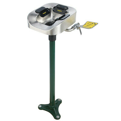 Speakman SE-1150  Optimus Floor Mount Eye and Face Wash Station with Stainless