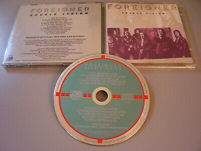 FOREIGNER Double Vision West Germany Target Cd  2895 242 01 Matrix  No Bar Code