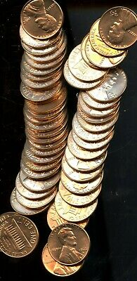 Roll (50) 1962 D United States Lincoln Memorial Cents(50 Coins) BI509