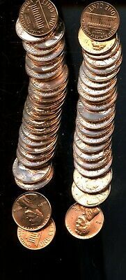Roll (50) 1964 United States Lincoln Memorial Cents(50 Coins) BI532