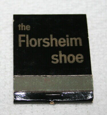 VINTAGE MATCHBOOK ~~  the FLORSHEIM SHOE SHOP, San Bruno, California