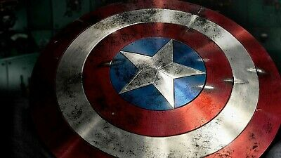 Captain America,Shield,Kids,Sticker,Poster,Avengers,Wall Art,Bedroom,Decal