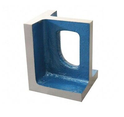 """Right Angle Plate Grade HT200 Blue Color 45/64"""" Thickness 4""""x5"""" Surface"""