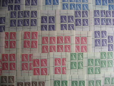 Canada 39 different  MNH Karsh plate blocks nice group here!