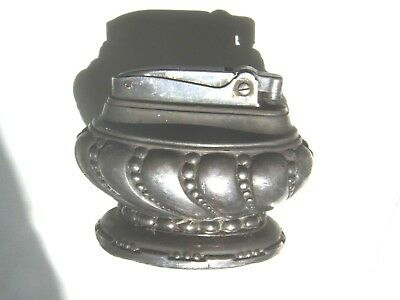 Ronson Crown Table Wick Lighter, Oval,1936-1948