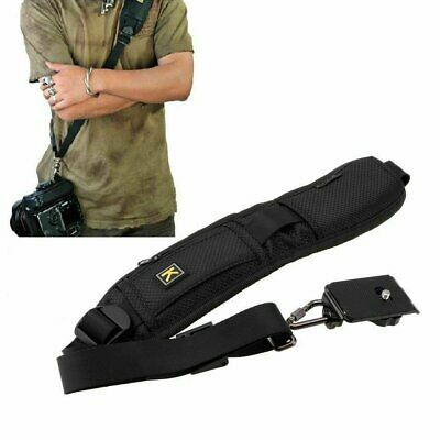 Single Shoulder Sling Belt Strap for DSLR Digital SLR Camera Quick Rapid lemon