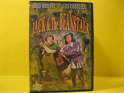 DVD MOVIE - JACK & THE BEANSTALK with BUD ABBOTT & LOU COSTELLO