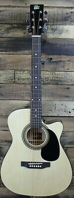 Rogue RA-090 Concert Cutaway Acoustic-Electric Guitar- Natural #R1629